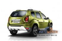 Задние брызговики 2 шт. на Renault Duster увеличенные до 2015