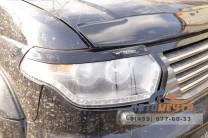 Реснички декоративные на фары УАЗ Патриот SHS Черные рест